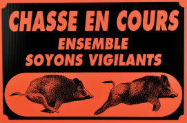 attention chasse